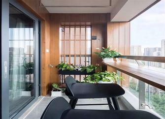 富裕型80平米北欧风格阳台装修案例