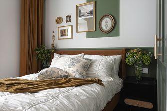 经济型100平米三室一厅英伦风格卧室设计图