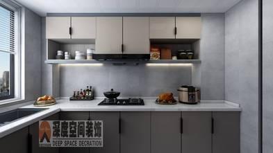 富裕型140平米四室三厅现代简约风格厨房图