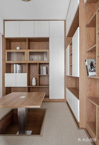 20万以上110平米三北欧风格书房设计图
