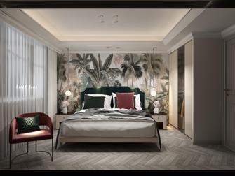 100平米三田园风格卧室装修案例
