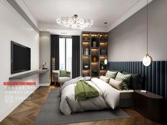 豪华型100平米别墅混搭风格卧室装修图片大全
