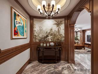 20万以上140平米复式美式风格玄关图片