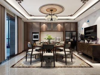 5-10万130平米三室两厅中式风格餐厅欣赏图
