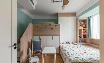 120平米三室三厅日式风格卧室装修案例