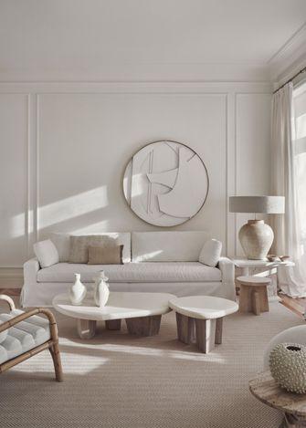 经济型140平米三室一厅法式风格客厅图片