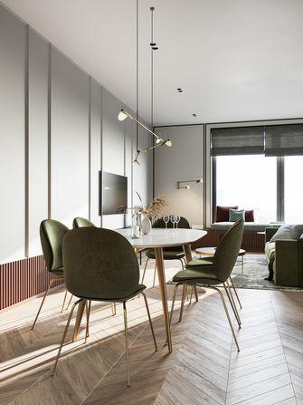 经济型30平米超小户型轻奢风格餐厅设计图