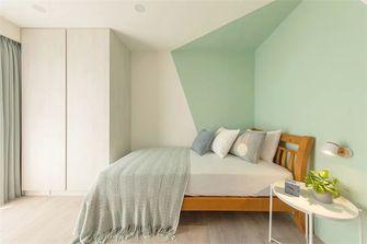 富裕型110平米三室两厅北欧风格卧室效果图