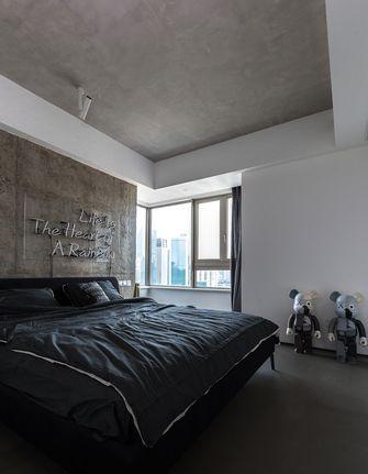 120平米三室一厅工业风风格卧室欣赏图