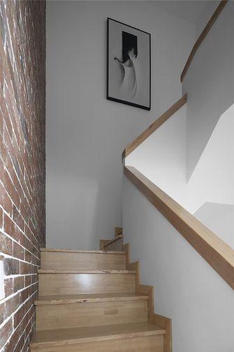 富裕型140平米复式北欧风格楼梯间图片大全