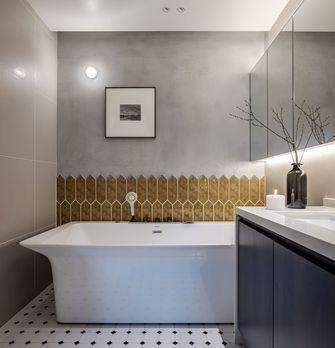 富裕型140平米别墅现代简约风格卫生间图