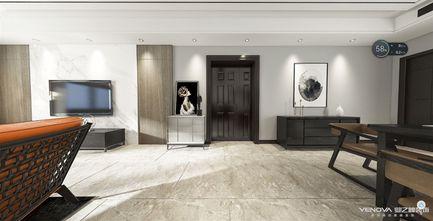 140平米四室一厅现代简约风格客厅欣赏图