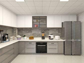 20万以上140平米四室一厅轻奢风格厨房欣赏图