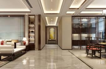 140平米三室两厅中式风格玄关装修图片大全