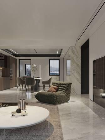 豪华型140平米现代简约风格客厅效果图