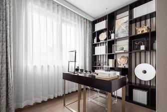 富裕型140平米四室两厅中式风格书房图片