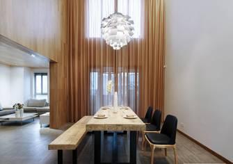 豪华型140平米复式北欧风格餐厅欣赏图