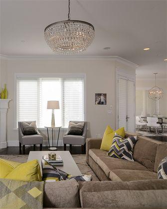 经济型60平米一室一厅美式风格客厅图