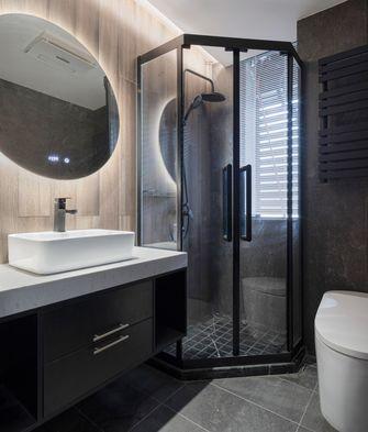 20万以上80平米三室一厅现代简约风格卫生间图片