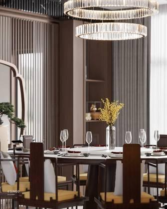 20万以上140平米别墅中式风格餐厅欣赏图