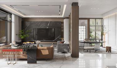豪华型140平米别墅现代简约风格客厅装修案例