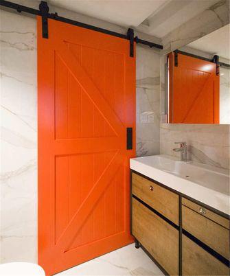 富裕型三室一厅现代简约风格卫生间设计图