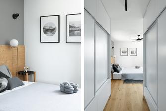 20万以上130平米四室两厅北欧风格走廊欣赏图