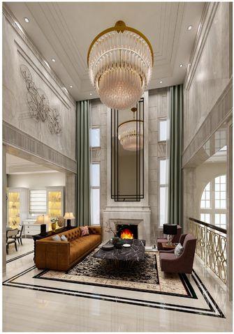 20万以上140平米别墅美式风格客厅装修效果图