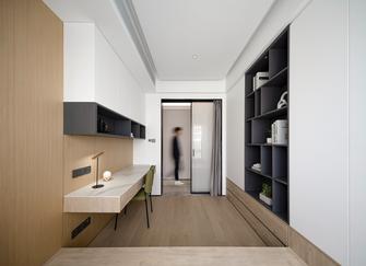 富裕型110平米三室两厅北欧风格书房装修案例