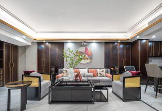 豪华型140平米四室三厅中式风格客厅装修案例