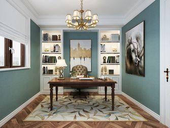 豪华型140平米别墅欧式风格书房图片大全