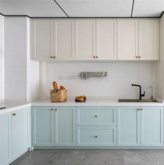 富裕型120平米三室两厅法式风格厨房欣赏图