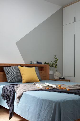 80平米三室两厅日式风格青少年房欣赏图