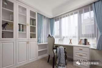 经济型130平米四室两厅欧式风格书房图片大全