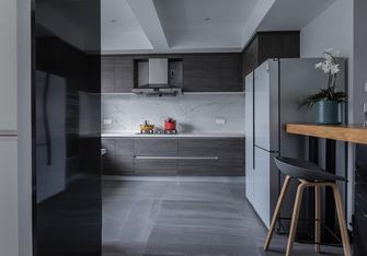 富裕型140平米三室两厅现代简约风格厨房设计图