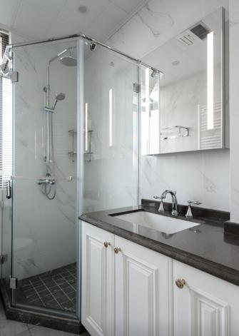 80平米法式风格卫生间设计图