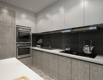 140平米四室四厅现代简约风格厨房图