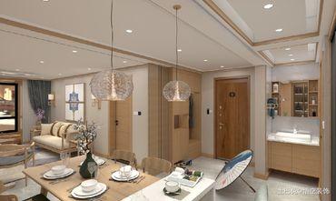 15-20万90平米三日式风格餐厅设计图