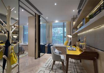10-15万60平米一室一厅北欧风格书房设计图