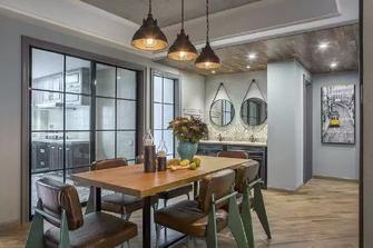 15-20万110平米三室三厅美式风格餐厅图