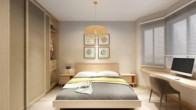 120平米四室两厅中式风格卧室设计图