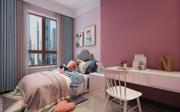 100平米三室两厅轻奢风格青少年房设计图