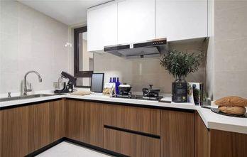 120平米三室两厅现代简约风格厨房装修图片大全