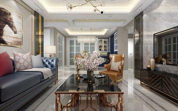 三轻奢风格客厅装修案例
