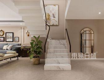 豪华型140平米四美式风格楼梯间欣赏图