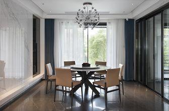 20万以上140平米四室四厅轻奢风格餐厅欣赏图