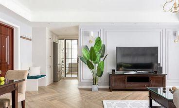 富裕型110平米三室两厅美式风格客厅图片