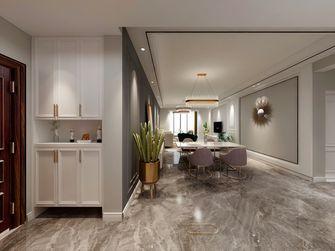 富裕型110平米四室四厅现代简约风格玄关图片