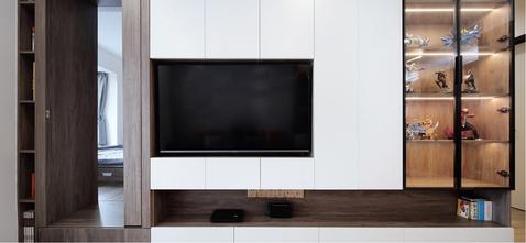富裕型80平米现代简约风格其他区域装修案例
