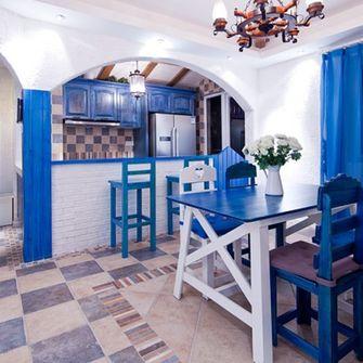 130平米地中海风格餐厅装修案例